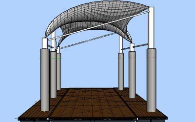 desain model kanopi
