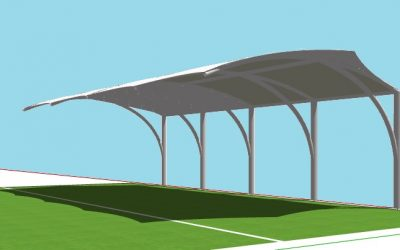 canopy membrane lurus