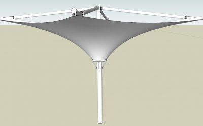 payung membrane terbalik